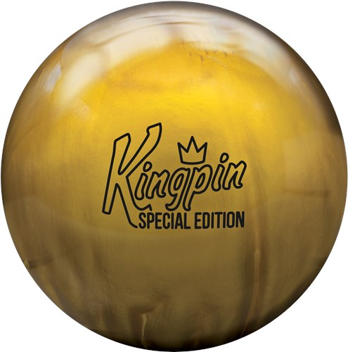 Brunswick-Brunswick Kingpin Gold Special EditionBall Reviews